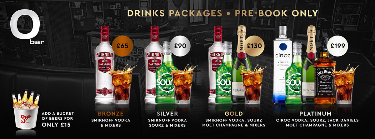 The O Bar Spirit Package